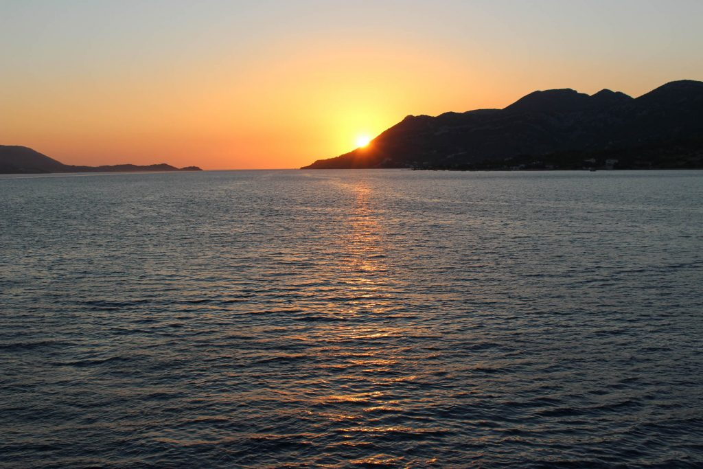 korcula_sunset